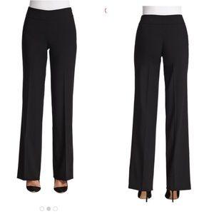Akris Punto Black Karla Wool Trouser Pants K